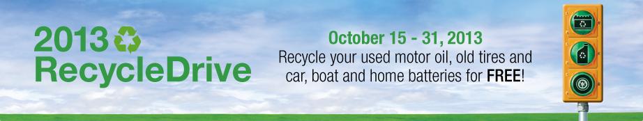CAA RecycleDrive Banner