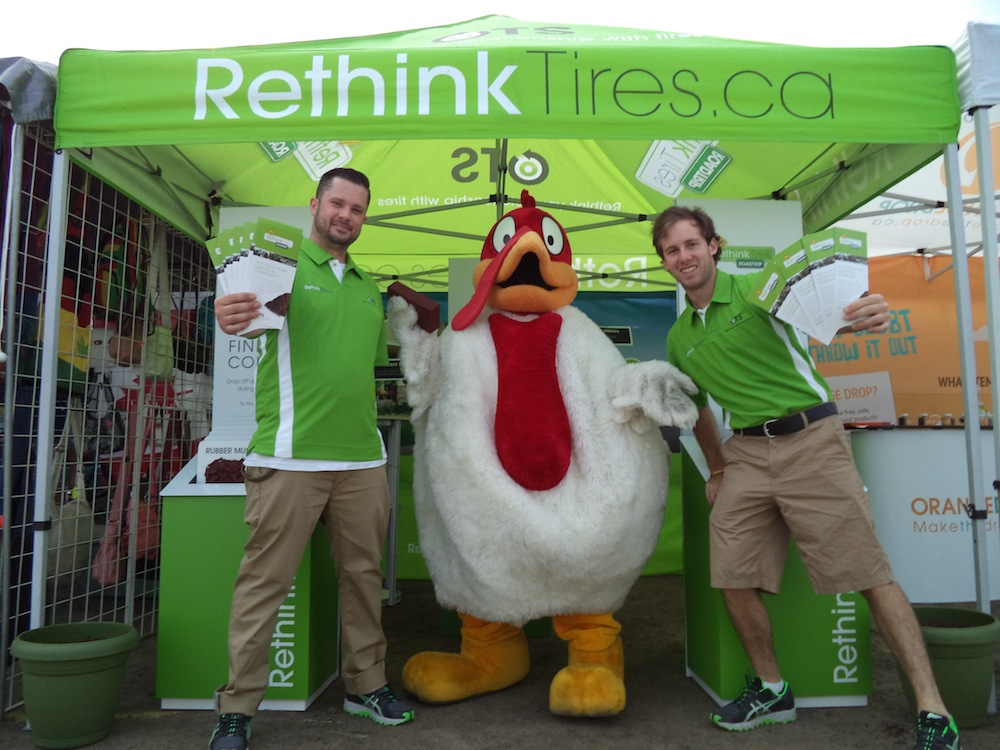 Jake and Devon at Niagara Poultry Fest