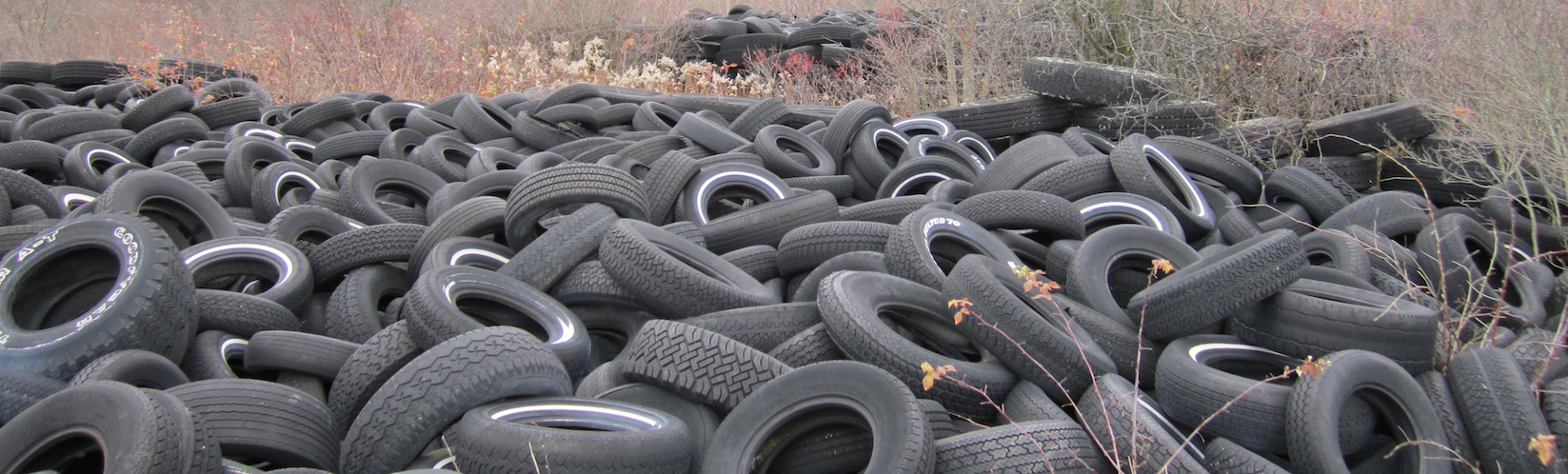 Ontario's Disappearing Used Tire Piles