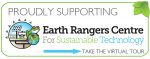 Earth Rangers Centre Sustainable Technology - Proud Supported Logo